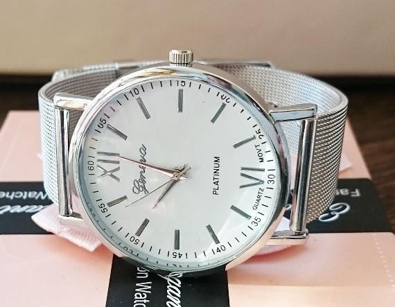 Luxusní Stříbrné Dámské Hodinky Geneva (SBTbr) - Eshop Selmars 78cb913c2e