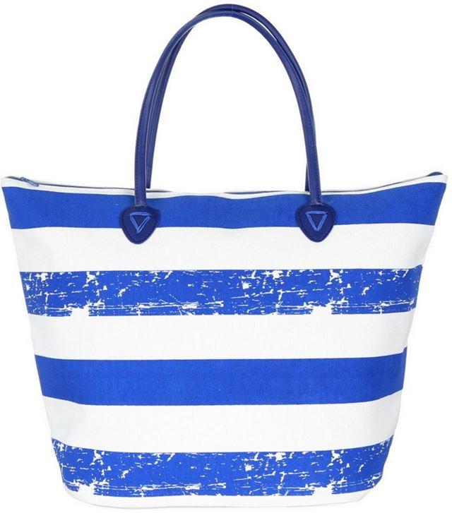Módní Taška Shopper Bag Leto na rameno - modra (2060) - Eshop Selmars 18dc687658a