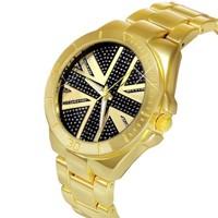 74625628bd3 ... Luxusní zlaté dámské hodinky Vlajka UK - London